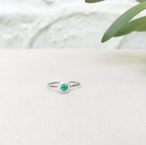 Emerald (May) Birthstone Ring