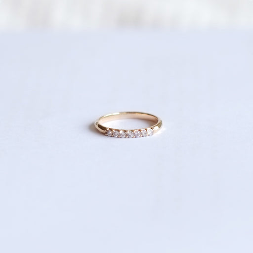 Perfect Grace Hammered Diamond Ring (9kt | 14kt | 18kt Gold)