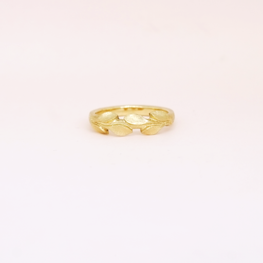 Laurel Band (14kt | 18kt Gold)