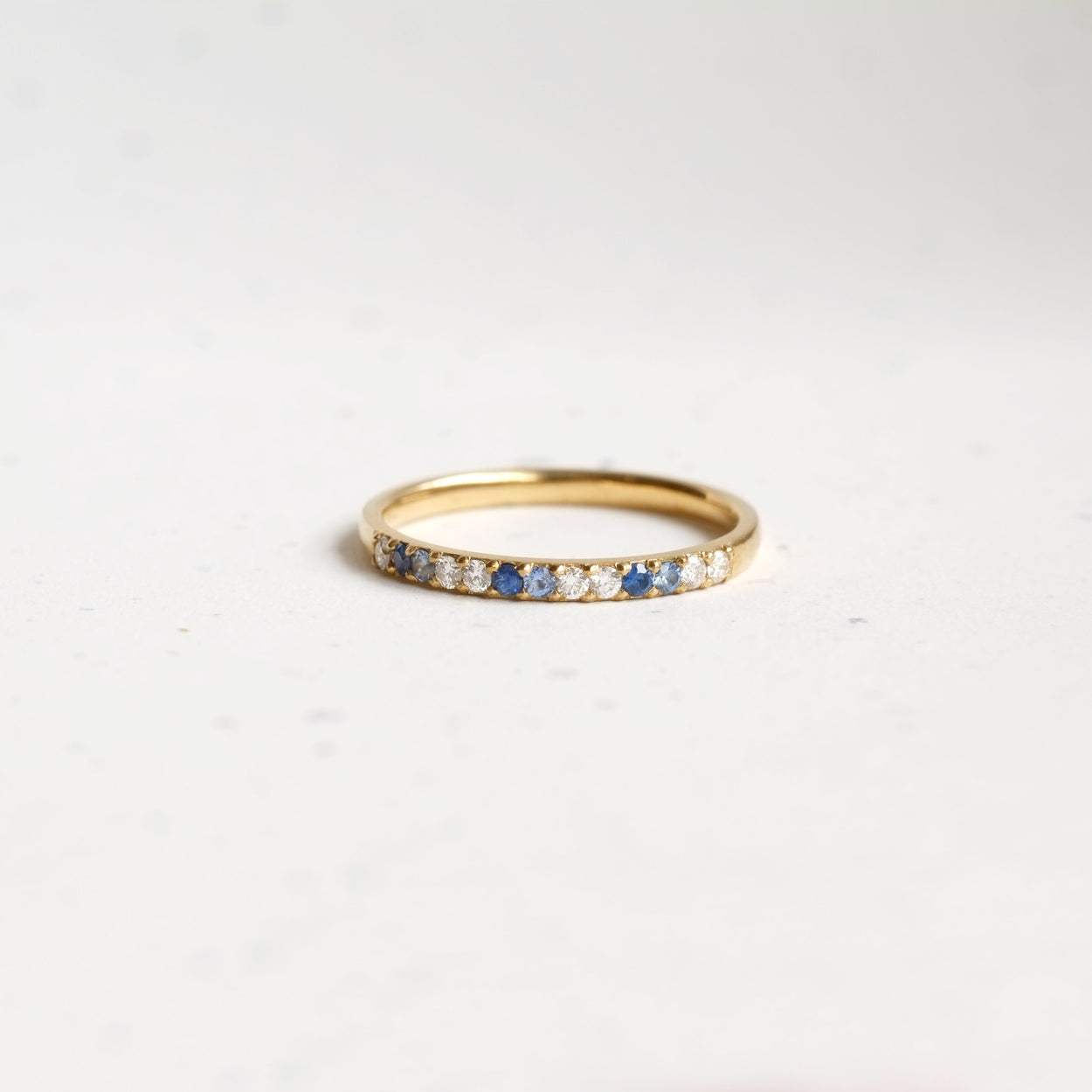 Wisdom Band (Blue Sapphires 14kt | 18kt Gold)