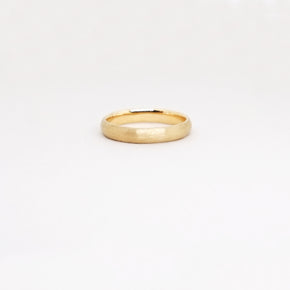 Low Dome 4mm Band (9kt | 14kt | 18 kt Gold)