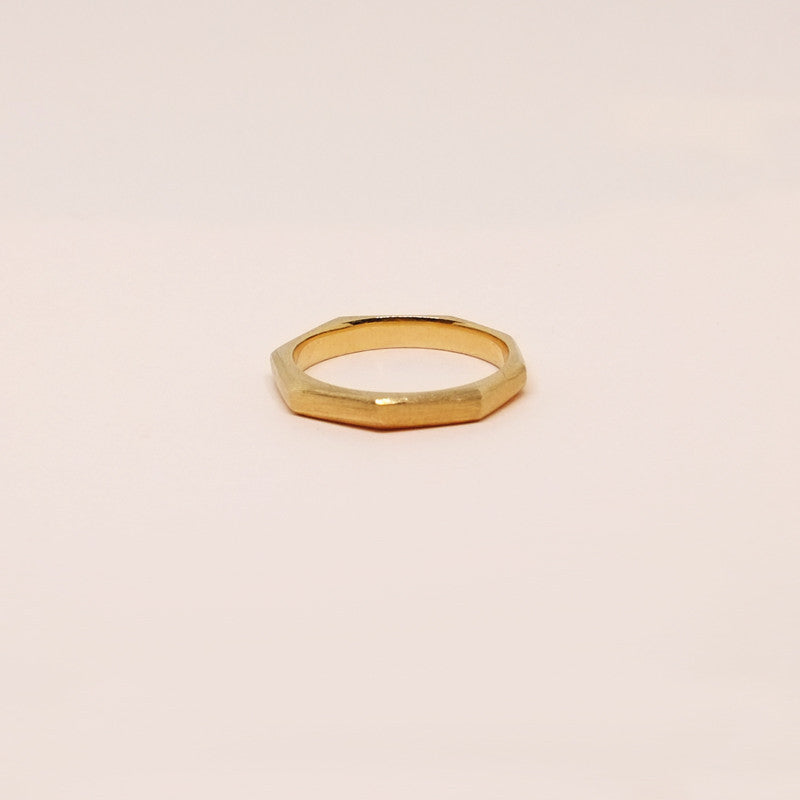 Mountain Full Band Slim (9kt | 14kt | 18kt Gold)