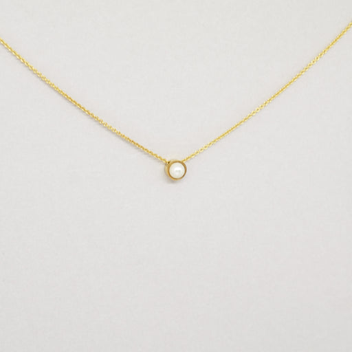 Pearl Necklace Yellow Gold (14kt)