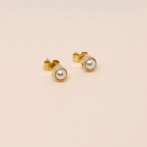 Pearl Earrings Yellow Gold (14kt)