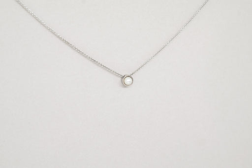 Pearl Necklace White Gold (14kt)