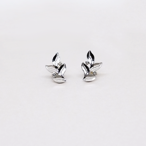 Providence Earrings 18K White Gold
