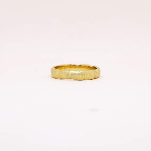 Reticulated Band (14kt | 18kt Gold)