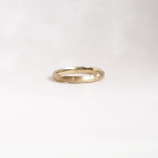 Reticulated Slim Band (14kt | 18kt Gold)