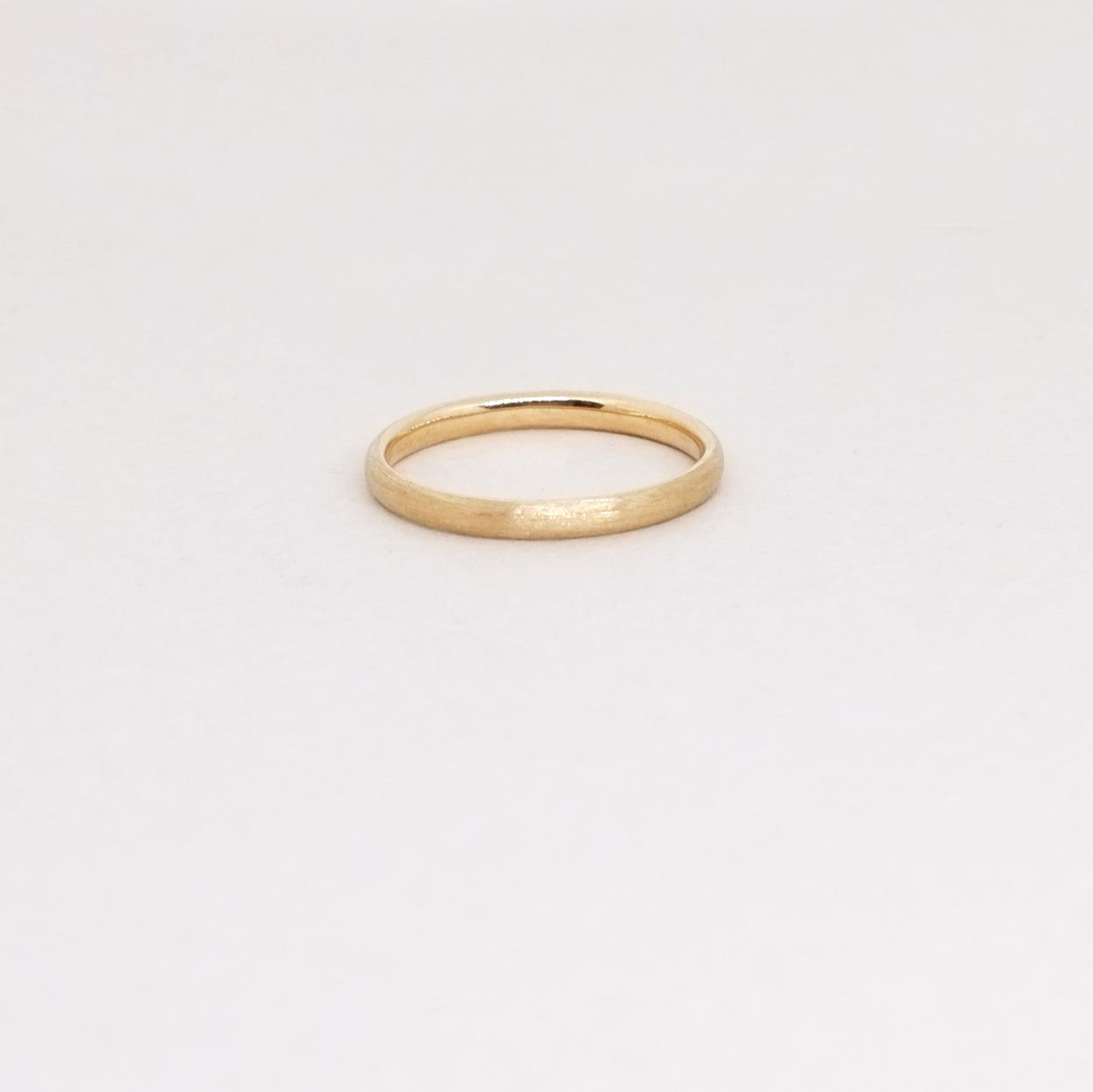 Low Dome 2mm Band (14kt | 18kt Gold)