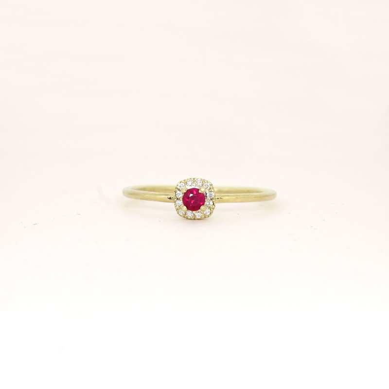 Ruby (July) Birthstone Ring