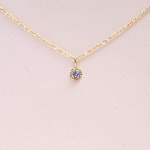 Tanzanite (December) Birthstone Necklace