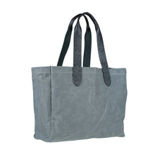 Wide Market Bag - Gray
