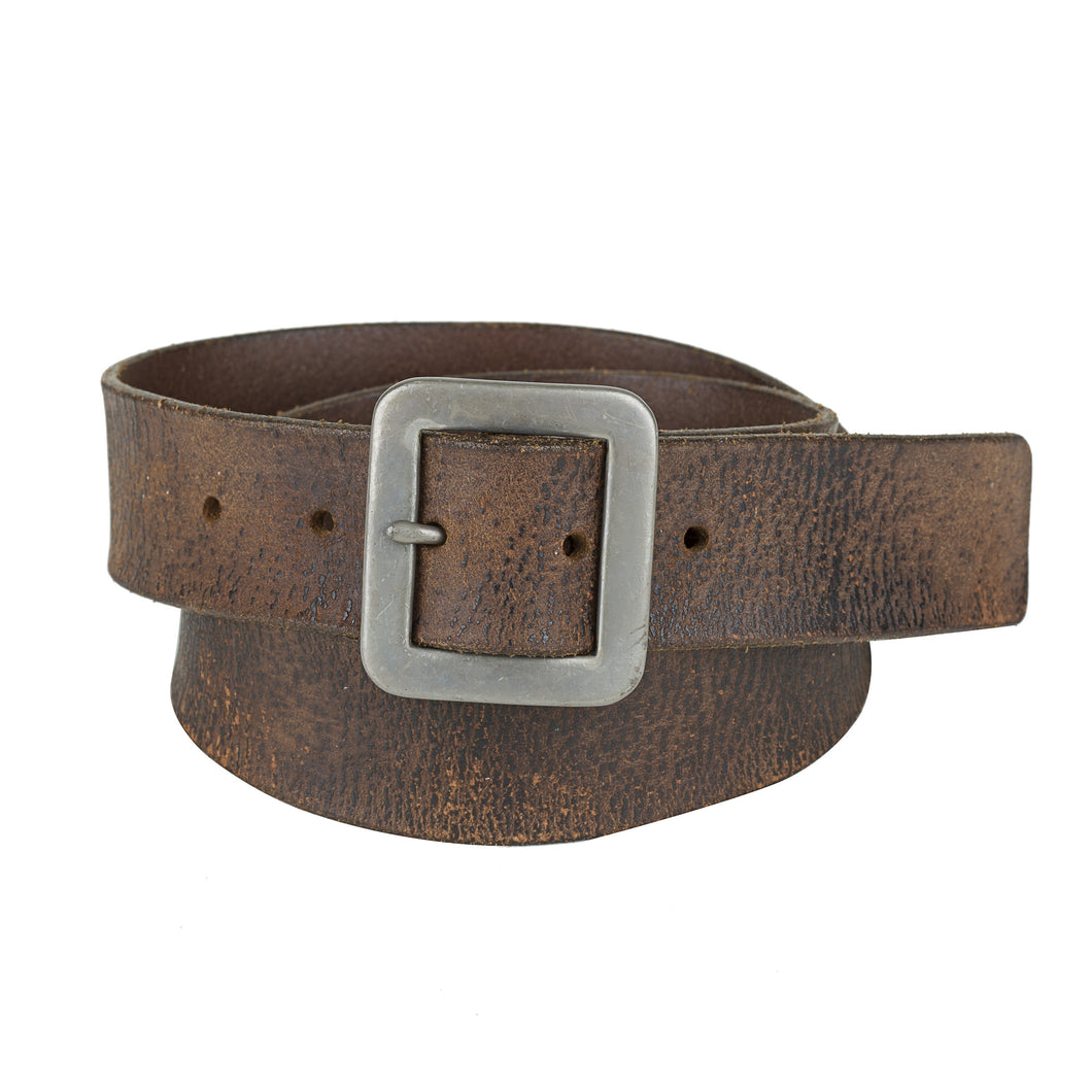 Leather Belt - Vintage Brown