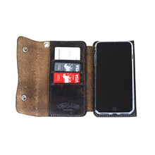 iPhone 7 Wallet - Vintage Black