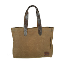 Wide Market Bag - Camel
