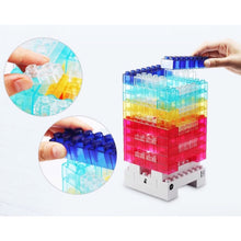 DIY building block LED lamp - ALLBRICKS Expert in Acrylic Display and Bricks