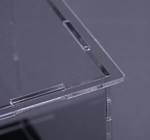 32 X 25 X 75 Acrylic Self Assembly Display Case - ALLBRICKS