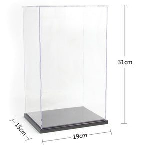Self Assembly Acrylic Display Case #191531 - ALLBRICKS