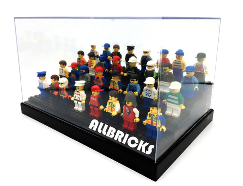 4-Tier Minifigure Acrylic Display Case * For Minifigs Without Base Plate * - ALLBRICKS