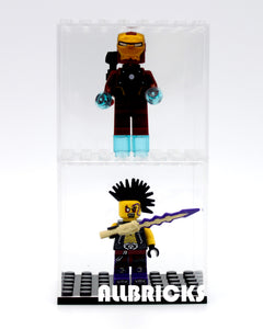 Individual Minifigure Acrylic Display Case - ALLBRICKS Expert in Acrylic Display and Bricks