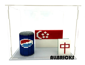 Large Nano Brick Acrylic Display Case - ALLBRICKS