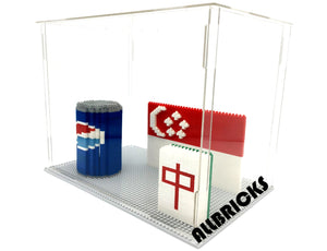 Large Nano Brick Acrylic Display Case - ALLBRICKS Expert in Acrylic Display and Bricks