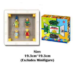 LEGO Minifigure Display Frame - ALLBRICKS Expert in Acrylic Display and Bricks