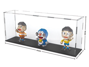 Long Nano Brick Acrylic Display Case - ALLBRICKS Expert in Acrylic Display and Bricks
