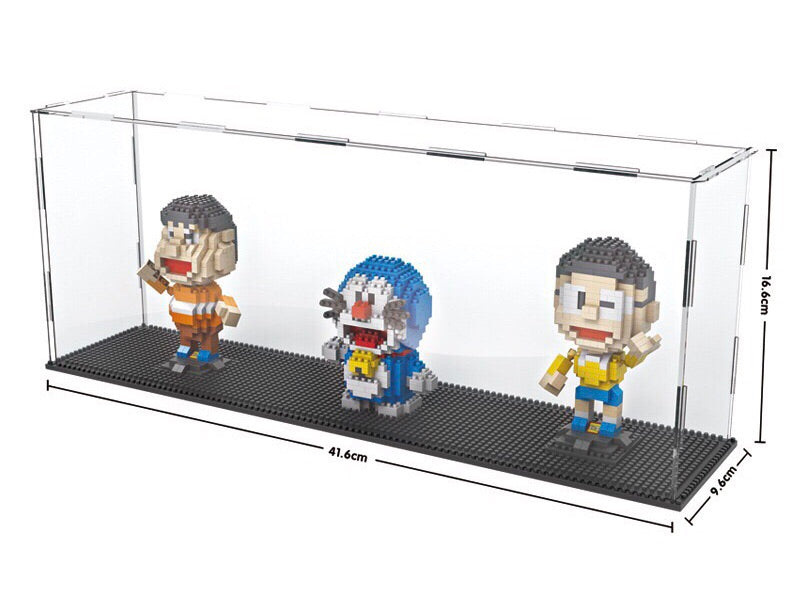 Long Nano Brick Acrylic Display Case - ALLBRICKS