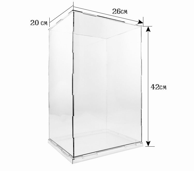 Action Figure Self Assembly Acrylic Display Case #262042 - ALLBRICKS
