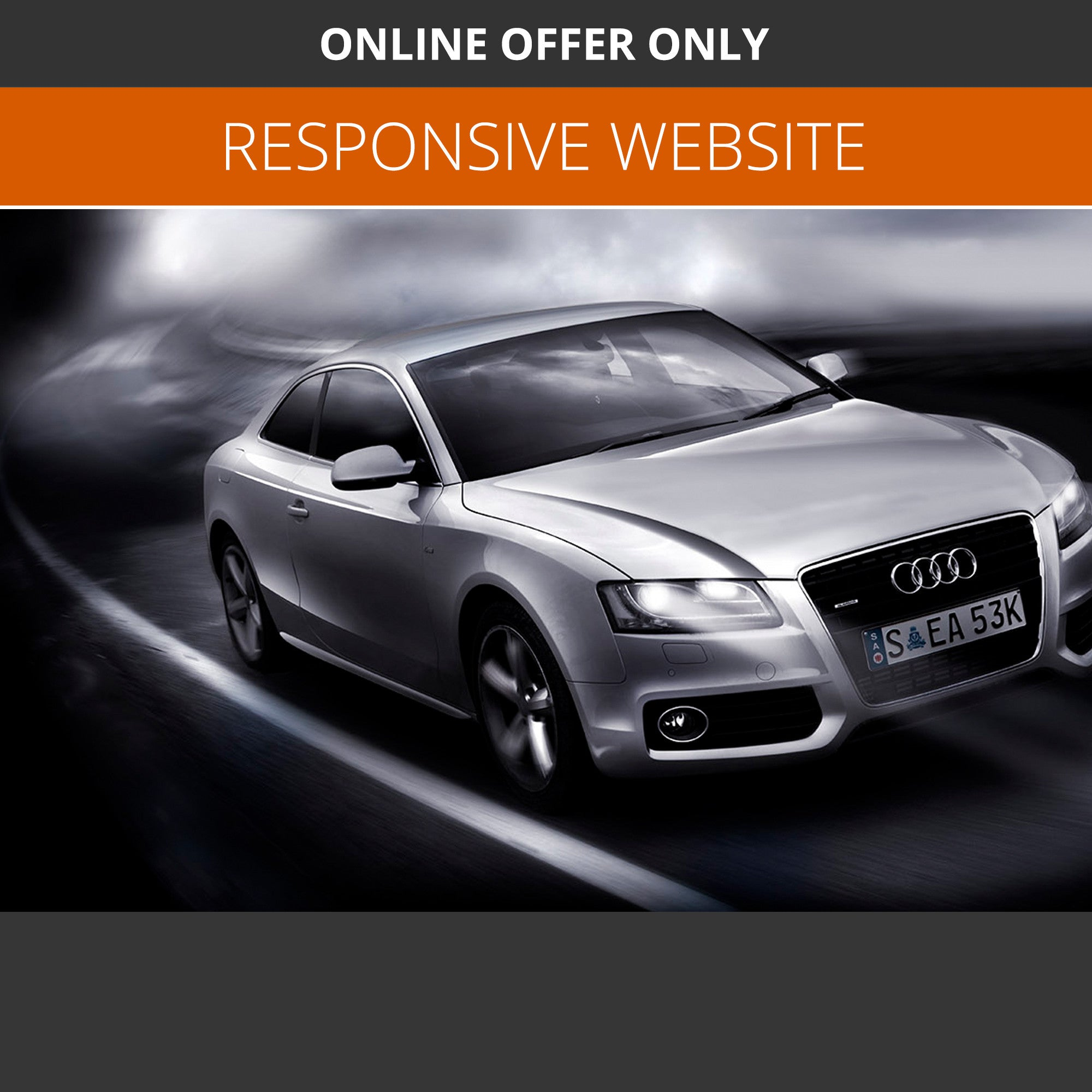 BLUE PACKAGE - NEW CAR DEALER WEBSITE