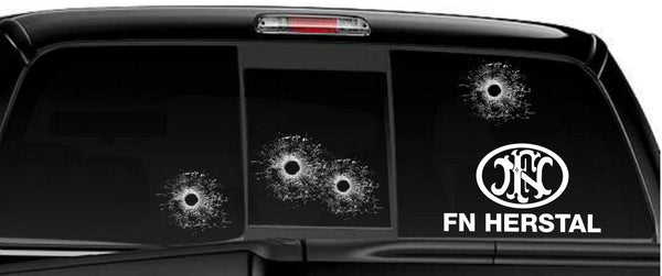 FN Herstal decal, sticker, firearm decal