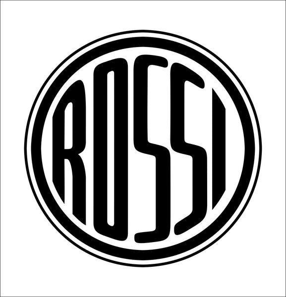 Rossi decal, sticker, firearm decal