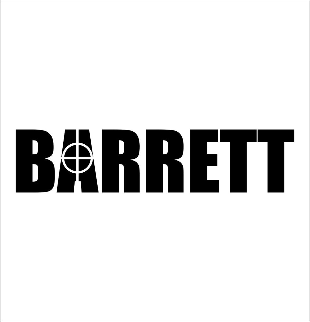 Barrett decal