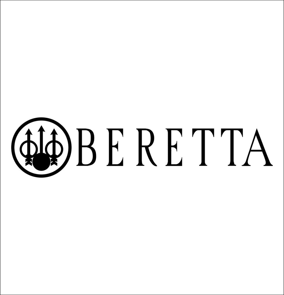 Beretta decal, sticker, firearm decal