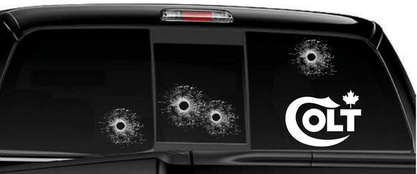 Colt Canada decal, sticker, firearm decal