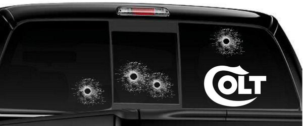 Colt decal, sticker, firearm decal