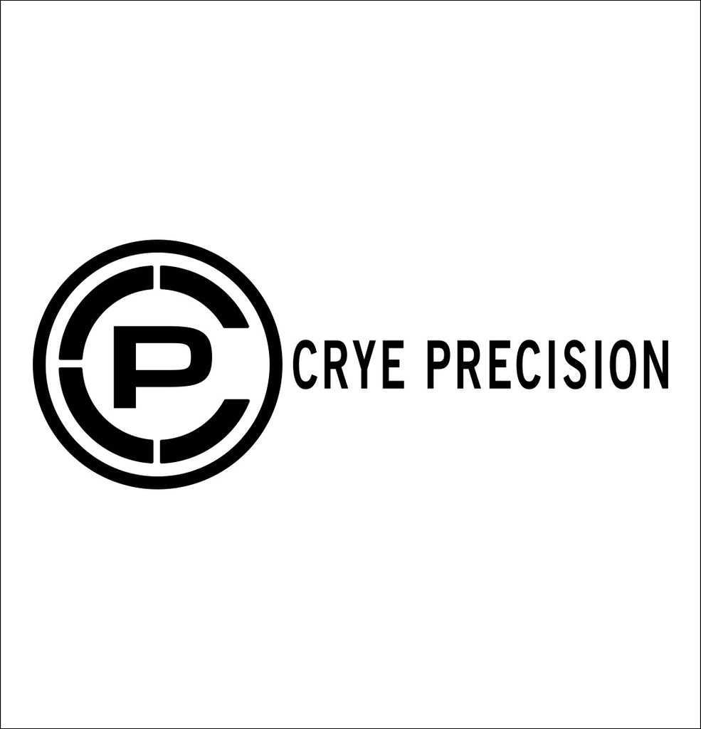 Crye Precision decal, sticker, firearm decal
