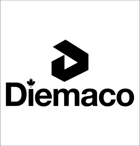 Diemaco decal, sticker, firearm decal