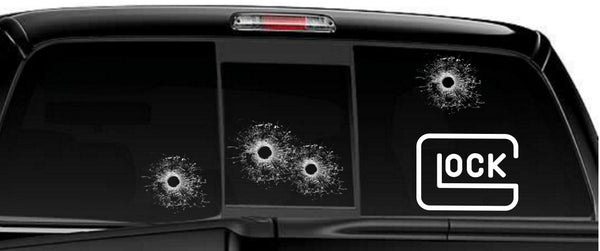 Glock decal, sticker, firearm decal