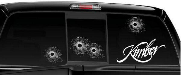 Kimber decal, sticker, firearm decal