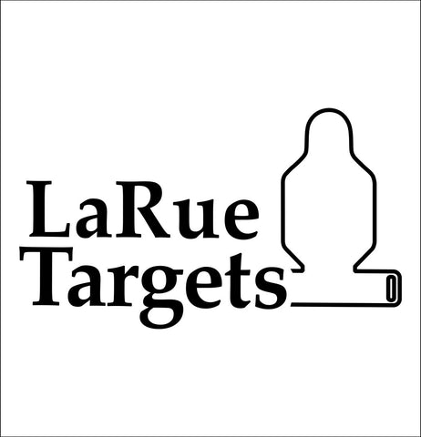 Larue Targets decal, sticker, firearm decal