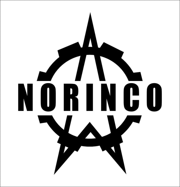 Norinco decal, sticker, firearm decal