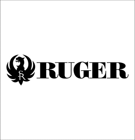 Ruger decal, sticker, firearm decal