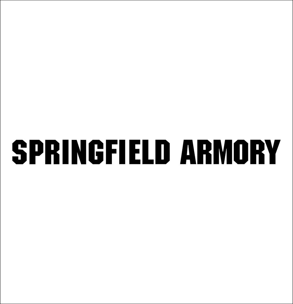 Springfield Armory decal, sticker, firearm decal