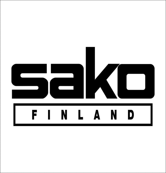 Sako Finland decal, sticker, firearm decal