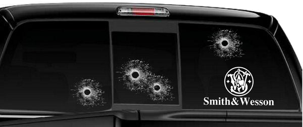 Smith & Wesson decal, sticker, firearm decal