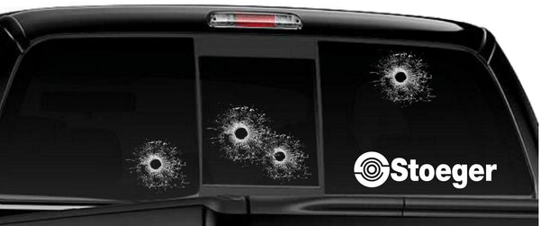 Stoeger decal, sticker, firearm decal
