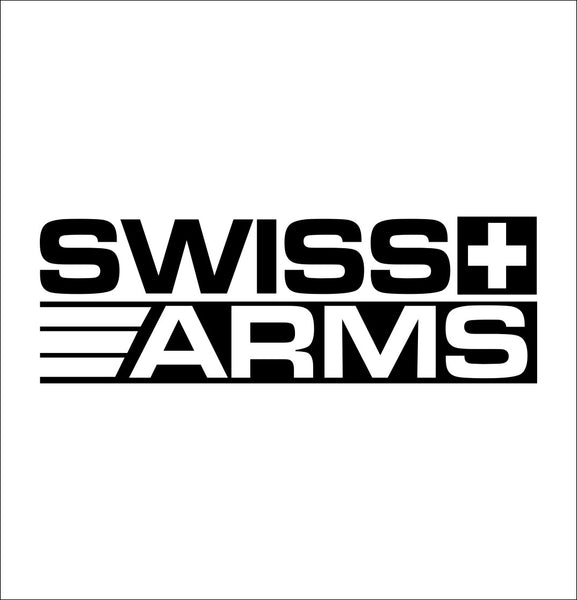 Swiss Arms decal, sticker, firearm decal