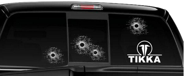 Tikka decal, sticker, firearm decal